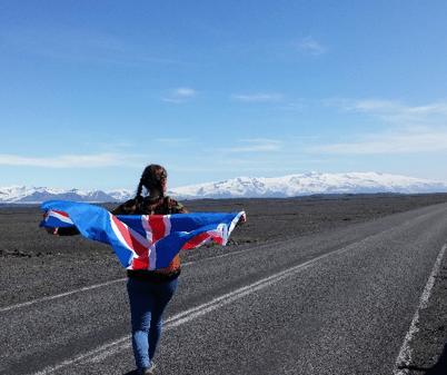Au Pair - IJsland - weg