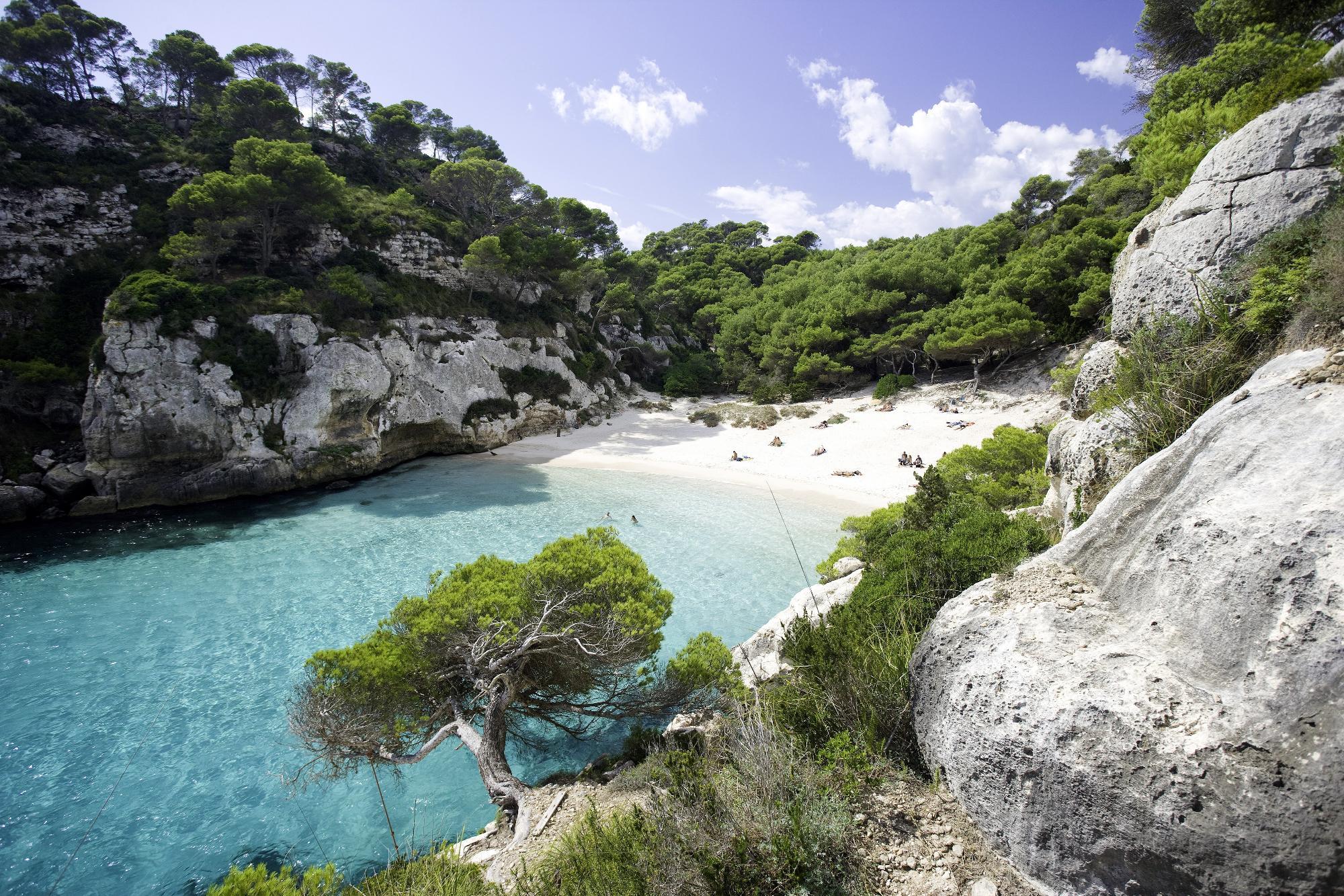 Au Pair - Menorca - uitzicht2
