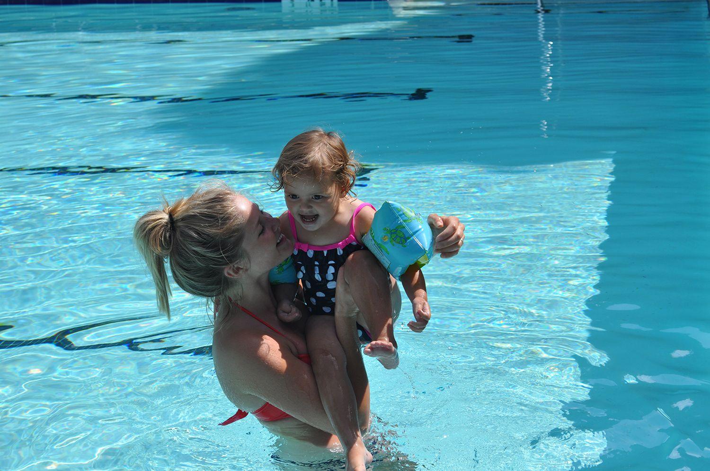 Au Pair zomer - Duitsland - zwembad