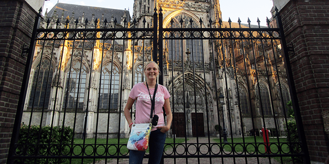 """Belgische High School Holland studente Juliette """"I'm having a really great time here!"""" 7"""