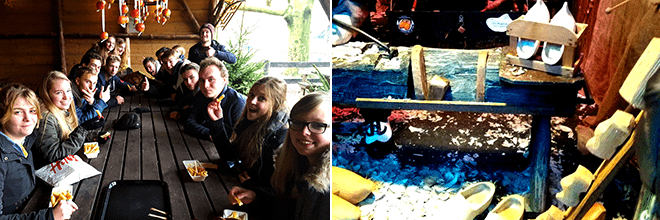 De High School Holland excursie Hollands vermaak in het Openluchtmuseum 2
