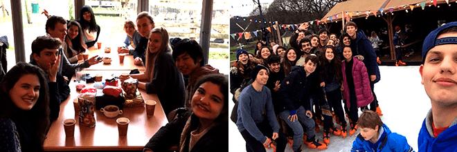 De High School Holland excursie Hollands vermaak in het Openluchtmuseum 4