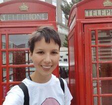 High School - Engeland - telefooncel
