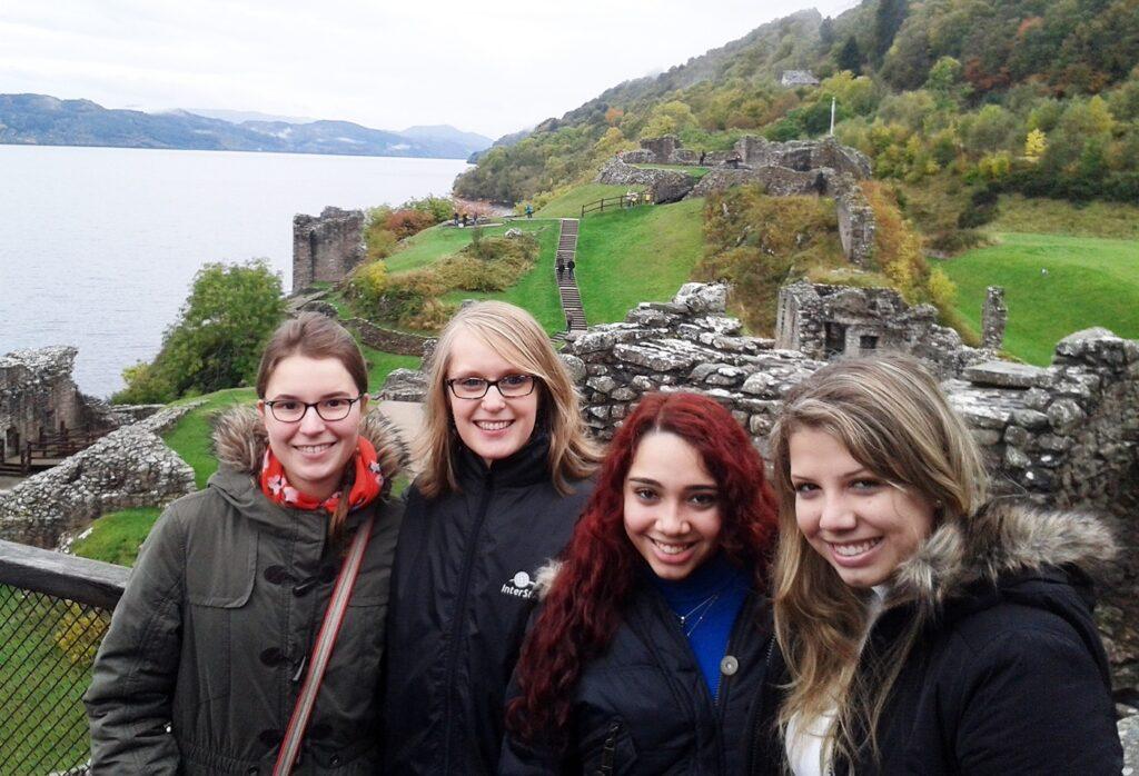 High School - Schotland - studenten
