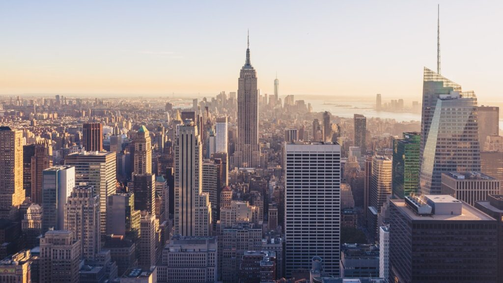 Summer School - Amerika - New York - uitzicht