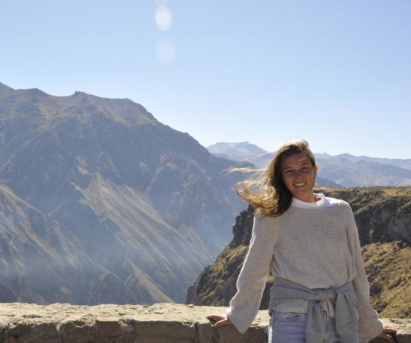 Travel Active ambassadeur Saskia