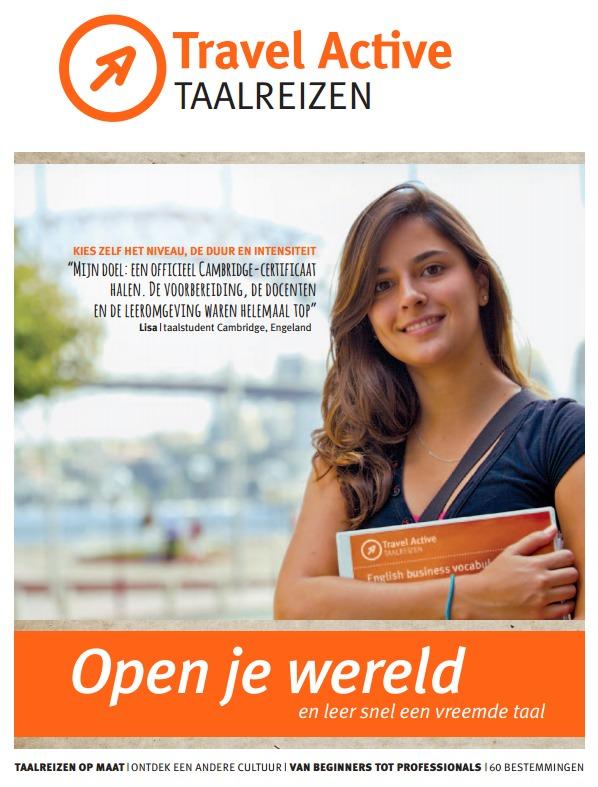 Cover Taalreizen magazine
