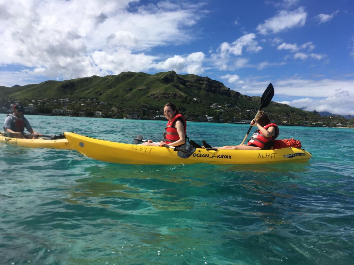 Maud ontspant op het paradijs op aarde Hawaii 3