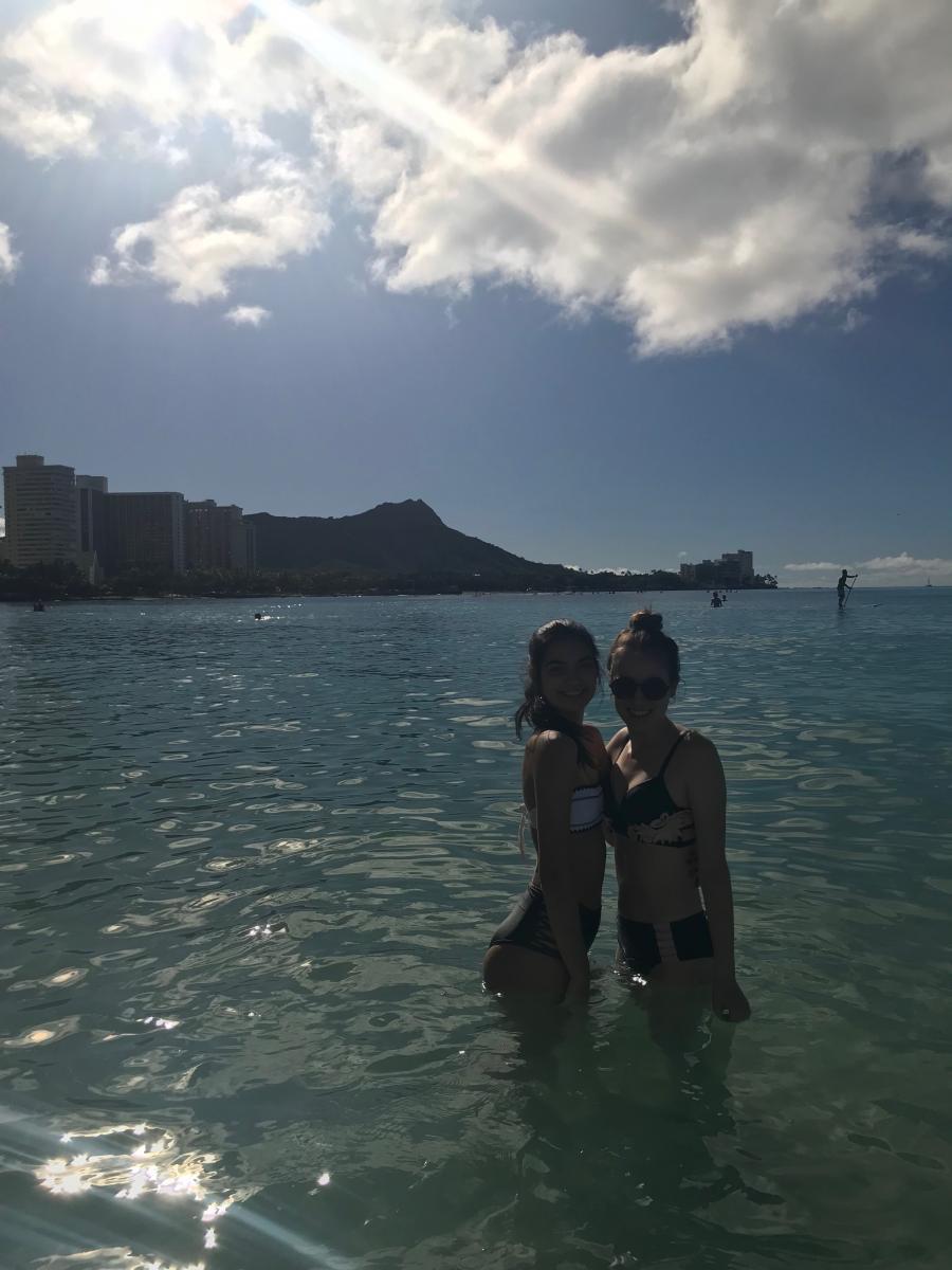 Maud ontspant op het paradijs op aarde Hawaii 4