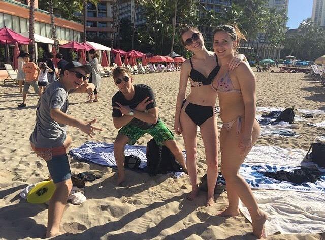 Maud ontspant op het paradijs op aarde Hawaii 6