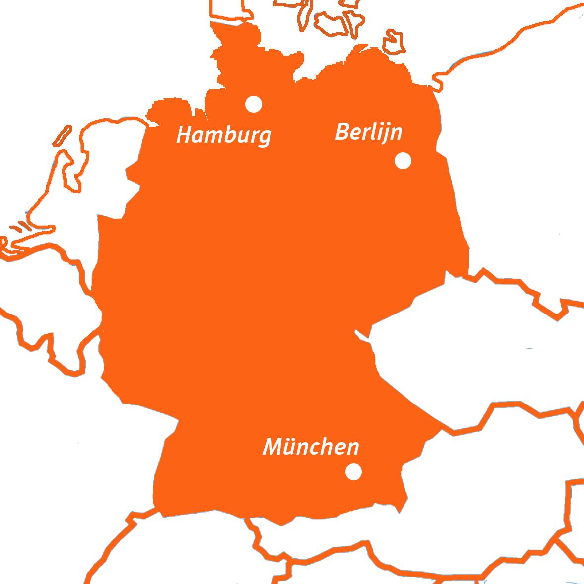 Travel Active - Duitsland - Kaart