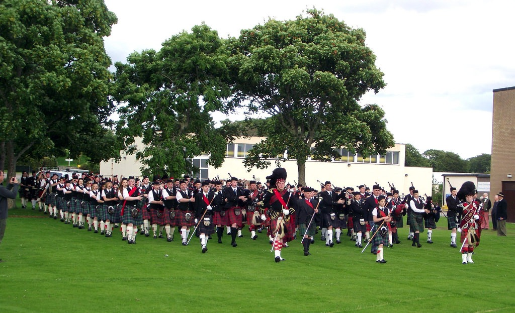 Travel Active - Schotland - Band