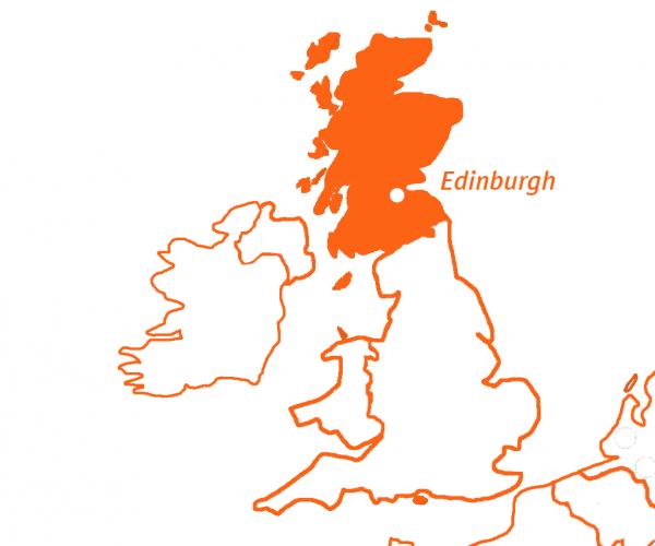 Travel Active - Schotland - Kaart