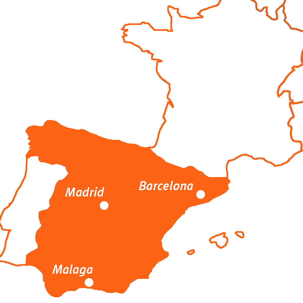 Travel Active - Spanje - Kaart